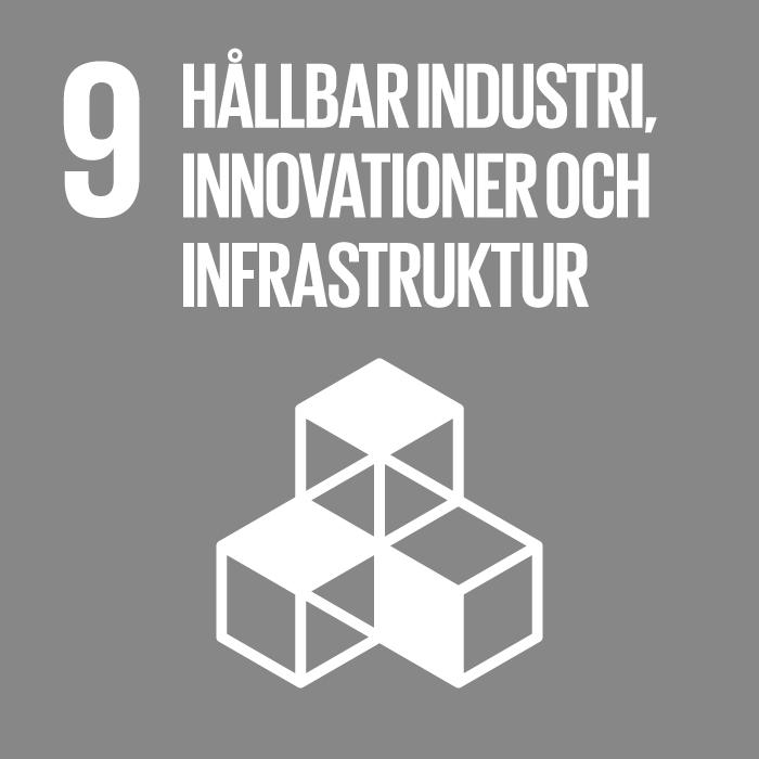 hållbar iindustri, innovationer och infrastruktur