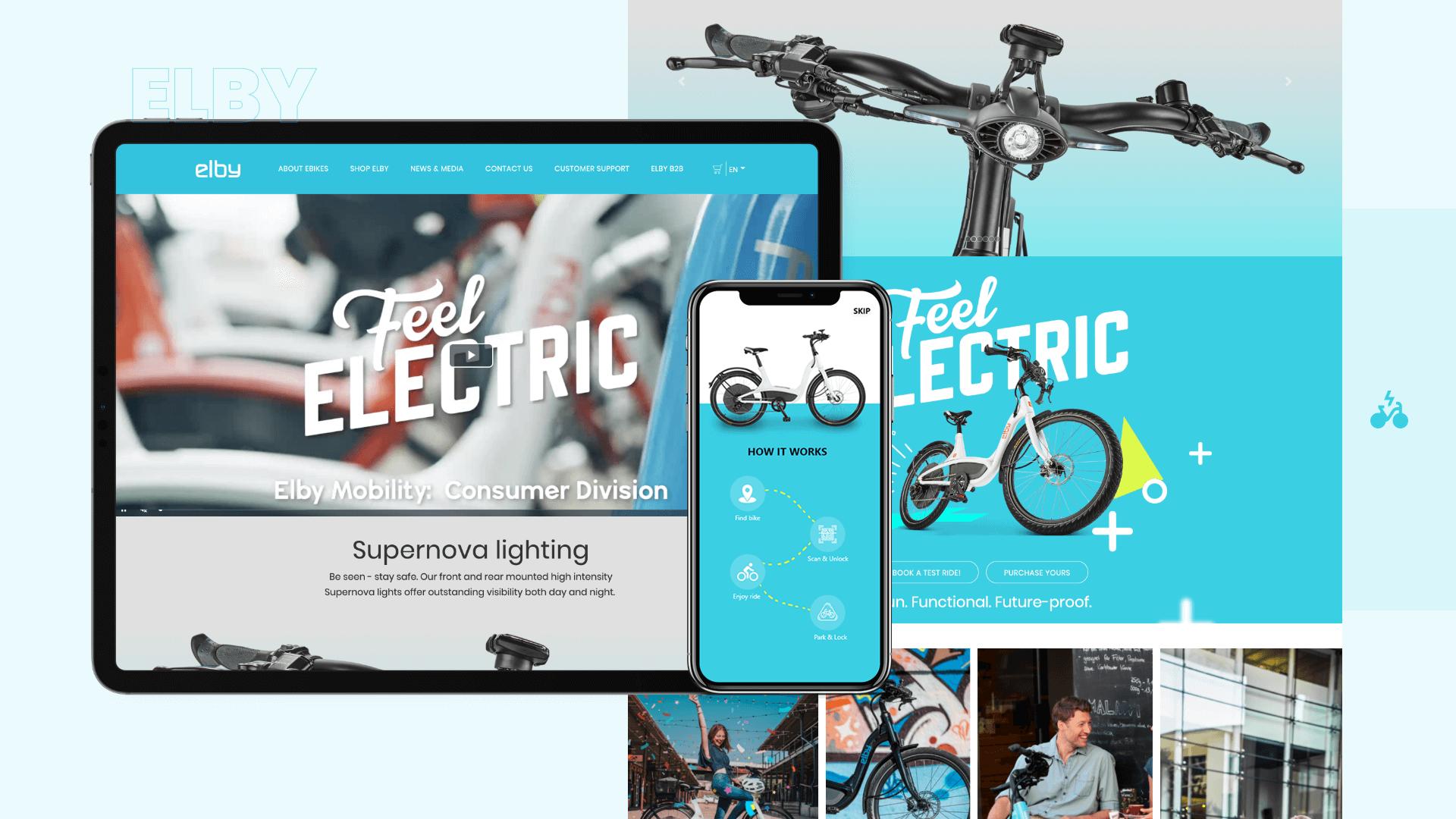 elby mobility webb app